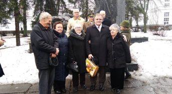 У відзначенні 75-річчя визволення Київської області від нацистських окупантів взяла участь і голова ради ветеранів міста Єлизавета Миздренко