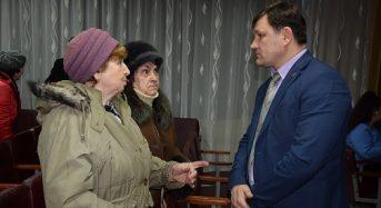 Відбувся звіт міського голови Тараса Костіна на відкритих зустрічах перед жителями мікрорайону Спаська Левада