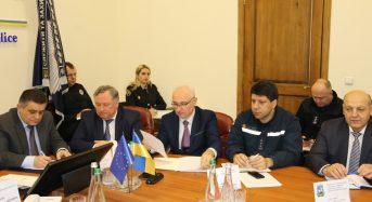 На Київщині відбулась міжвідомча розширена відеоселекторна нарада з питань забезпечення публічної безпеки під час виборів Президента України.