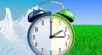Увага! 31 березня не забудьте  перевести стрілки годинників на літній час