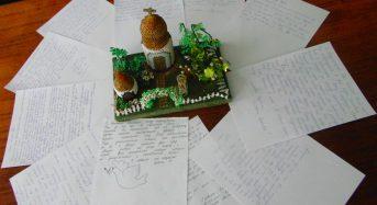 Члени Міської Ради Дітей Переяслава написали листи, які будуть передані на схід