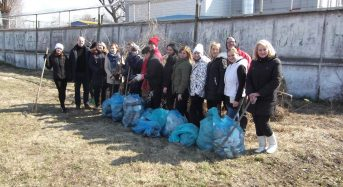 Працівники виконавчого комітету Переяслав-Хмельницької міської ради взяли участь у міжнародному челенджі #trashtag