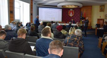 Відбулося І-ше пленарне засідання 65 сесії міської ради