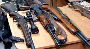 Розпочався місячник здачі нелегальної зброї