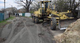 Продовжуються роботи з благоустрою вулиці Ярослава Потапенка (фото)
