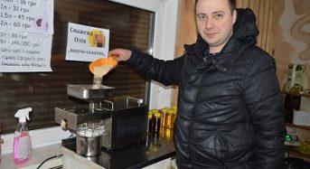 Переяславський підприємець виготовляє дев'ять видів корисних рослинних олій