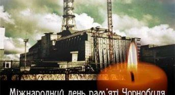 Звернення міського голови у Міжнародний День пам'яті Чорнобильської трагедії