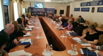 У практикумі із галузевої законотворчості з питань охорони здоров'я у Верховній Раді бере участь заступник міського голови Валентина Губенко