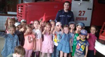 24 травня рятувальники Переяслав-Хмельницького району провели акцію «Запобігти. Врятувати. Допомогти.»