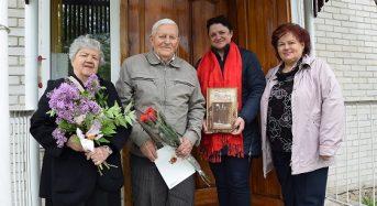 Із ювілеєм привітали Почесного громадянина міста Переяслава-Хмельницького Володимира Харченка