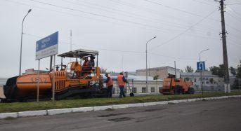 По проспекту Червоноармійців проводиться поточний ремонт