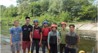 Відбулися Всеукраїнські змагання серед школярів зі спортивного водного туризму