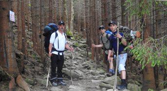 Переяславець Микола Богатир відсвяткував 60-річчя, підкоряючи вершини Карпат