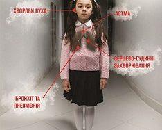 Діти – жертви пасивного куріння