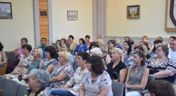В міській раді відбулися урочистості до Дня Конституції України