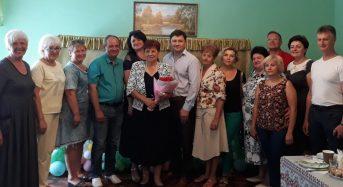 """У """"мами"""" """"Золотого ключика"""" Марії Роман сьогодні ювілей. Її привітали керівники міста, друзі та колеги (Фото)"""