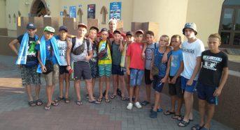До наступного сезону юні футболісти готувалися на Азовському морі