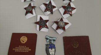 Через пункт пропуску «Бориспіль»  іноземний студент намагався незаконно вивезти високі радянські державні нагороди