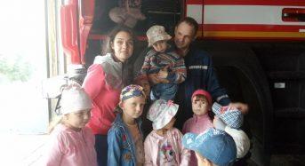 До рятувальників завітали дітлахи з ДНЗ «Берізка»