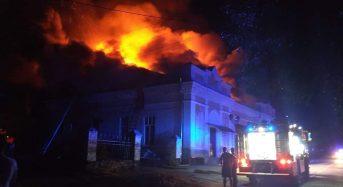 У Переяславі згорів колишній кінотеатр