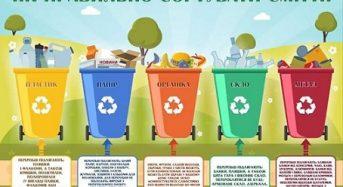 Навіщо потрібно сортувати сміття?