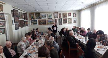 """Учасники клубу """"Пам'ять серця"""" зустрілися з членами делегації з Німеччини"""