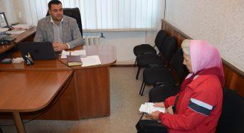 Перший заступник міського голови провів особистий прийом громадян