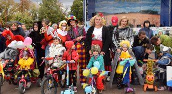 У місті вперше відбувся парад дитячих транспортних засобів