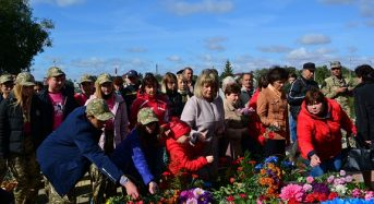 Відбувся урочистий молебень за загиблими у ІІ світовій війні з нагоди 76-ї річниці звільнення Переяслава від німецько-фашистських загарбників