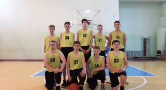 Пройшов перший тур юнацької баскетбольної ліги Київської області серед юнаків 2003-04 р.н.