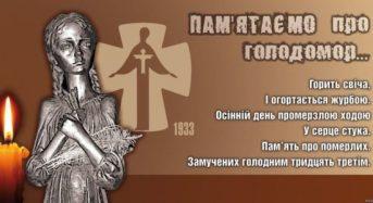 Звернення міського голови Тараса Костіна до Дня пам'яті жертв Голодоморів в Україні