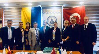 Відбулася робоча зустріч між представництвами Стамбульського фонду науки і культури та місцевого педагогічного університету