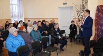 Відбувся звіт міського голови у мікрорайоні Борисівка
