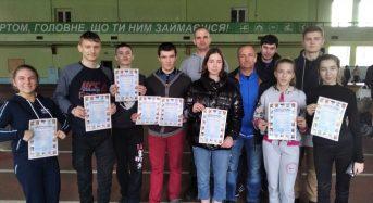 Чемпіонат області став рясним на нагороди
