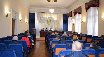У позачерговому засіданні комісії з питань техногенно-екологічної безпеки та надзвичайних ситуацій району взяв участь і міський голова Тарас Костін