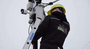 """За ініціативи та сприяння ТОВ """"ХатаNET"""" у місті з'явилися нові камери відеоспостереження"""