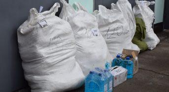 Медикам міста передали 685 костюмів біологічного захисту і дезинфікуючі розчини
