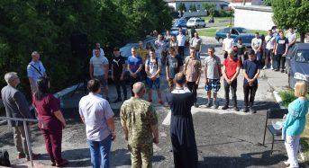 Відбулися урочисті проводи призовників до лав Збройних Сил України