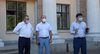 На Центральній площі міста відбулася мирне зібрання щодо питання створення Переяславського району як центру субрегіонального рівня