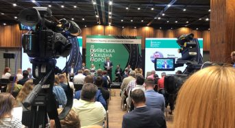 В. Володін взяв участь у презентації проєкту Київської обхідної дороги