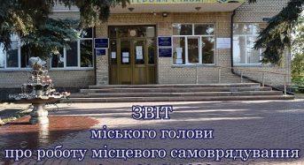 Звіт міського голови про роботу місцевого самоврядування за період з 2015 по 2020 роки
