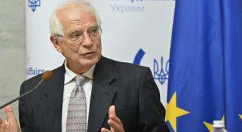 Візит із натяком на безвіз: що сказав і про що промовчав у Києві шеф дипломатії ЄС