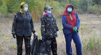 На березі Дніпра відбулася екологічна акція