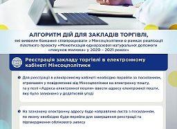 Заклади торгівлі запрошуємо приєднатись до пілотного проекту монетизації одноразової натуральної допомоги «пакунок малюка»