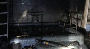 """Локалізовано пожежу в приміщенні кафе """"Прем`єр"""""""