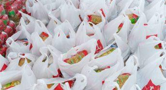 """Церква """"Оселя благодаті"""" роздала переяславським вдовам понад шістдесят продуктових наборів"""