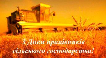 Привітання з Днем працівників сільського господарства від місцевого самоврядування
