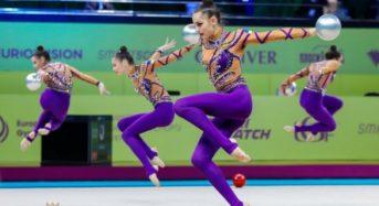 Збірна України здобула шість нагород на ЧЄ з художньої гімнастики у Києві