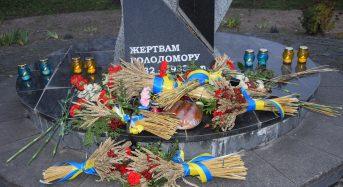 Голова Переяславської громади Вячеслав Саулко вшанував пам'ять жертв голодоморів