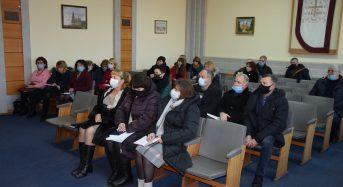 У міській раді привітали представників місцевого самоврядування